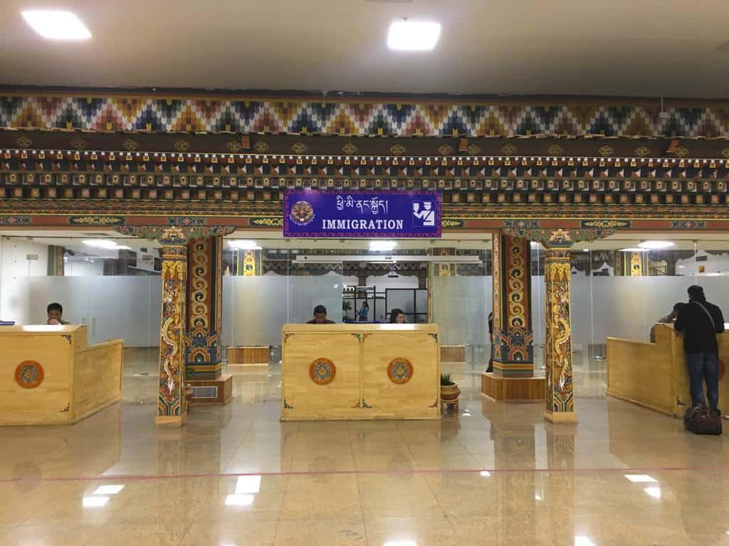 Paro Airport in Bhutan