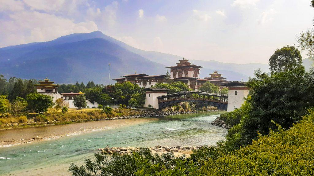 Punakha Dzong in Bhutan