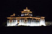 Rinpung Dzong - A Buddhist Monastery in Paro, Bhutan