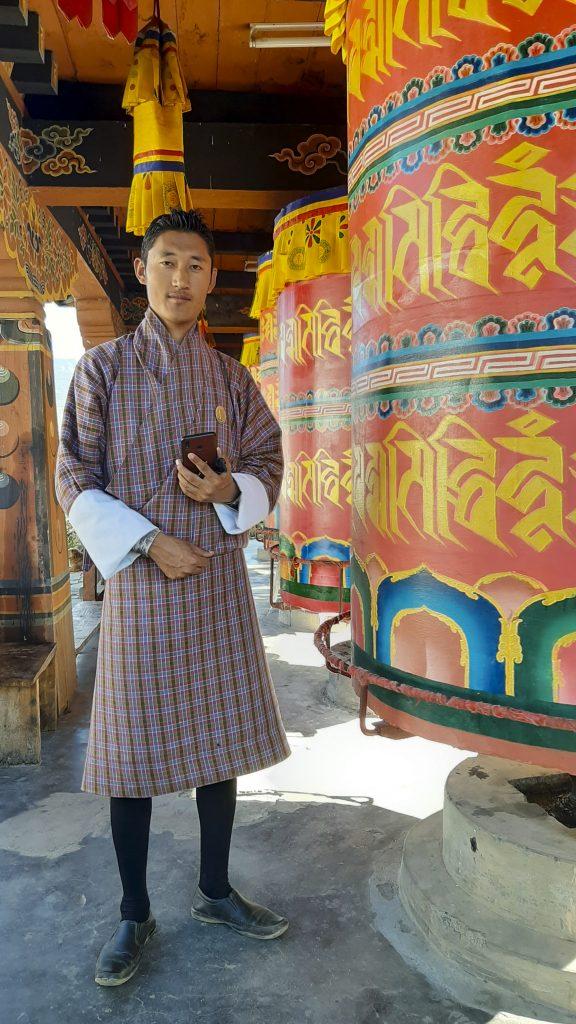 Traditional Gho Bhutan