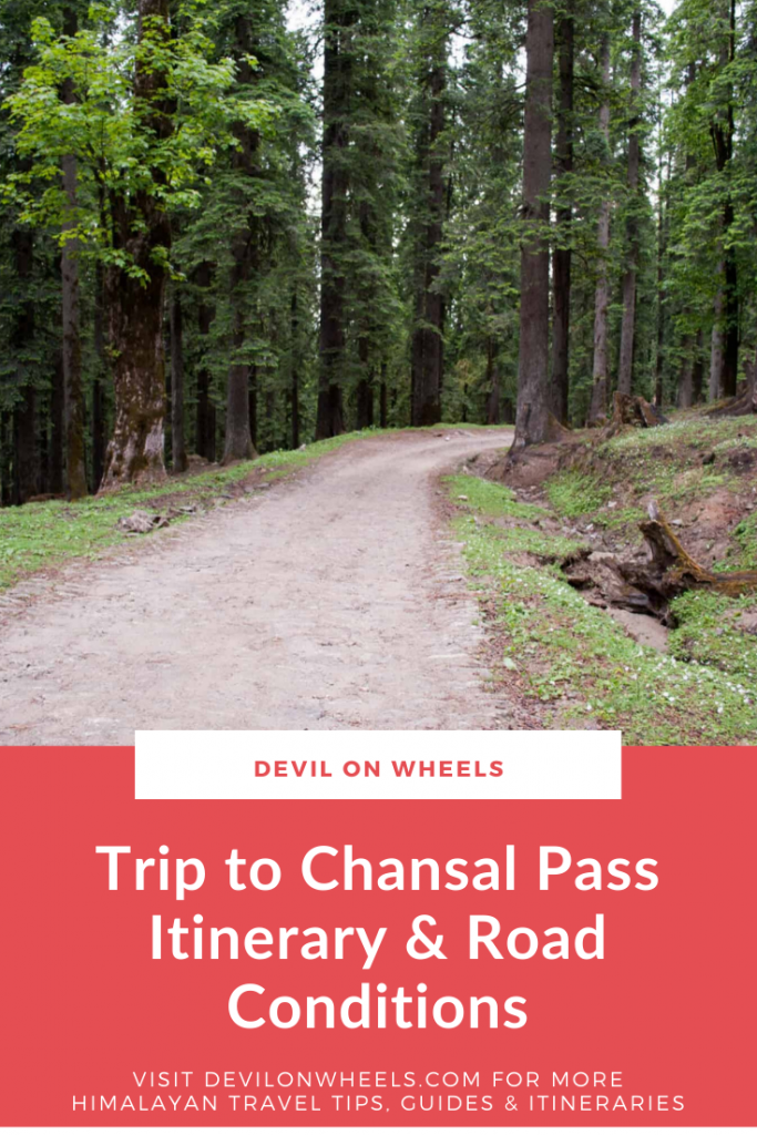 Trip to Rohru and Chansal Pass