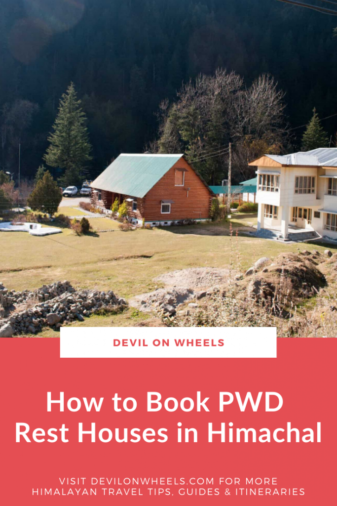 How to Book HP PWD Rest Houses or Forest Rest Houses?