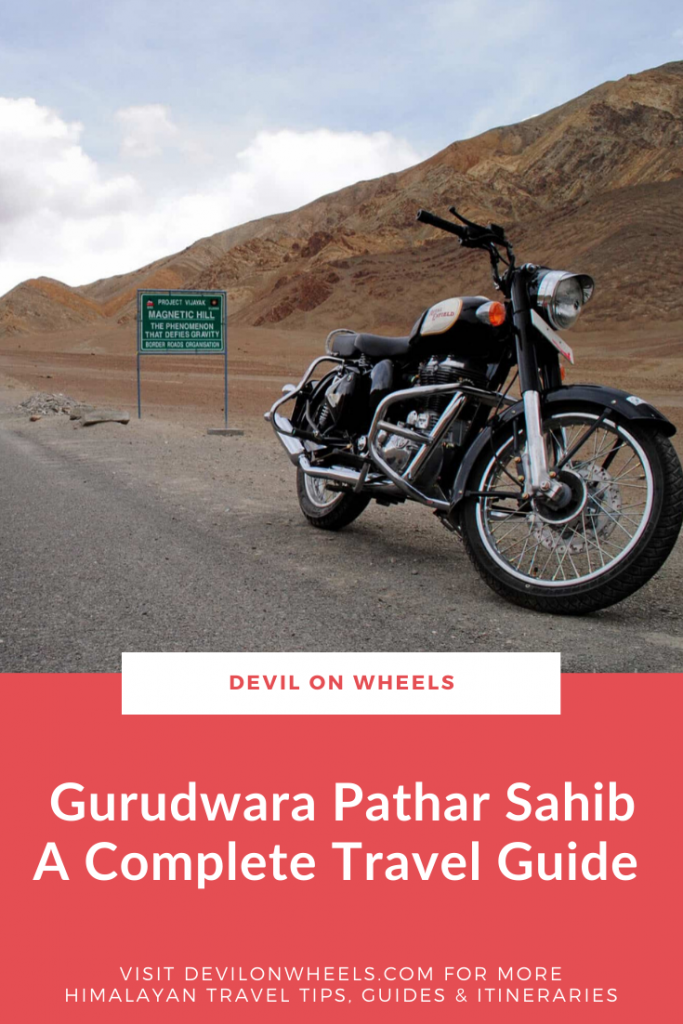 A Complete Travel Guide for visiting Gurudwara Pathar Sahib in Ladakh