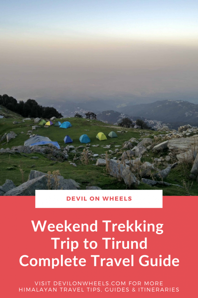 Weekend Trip Triund Trek