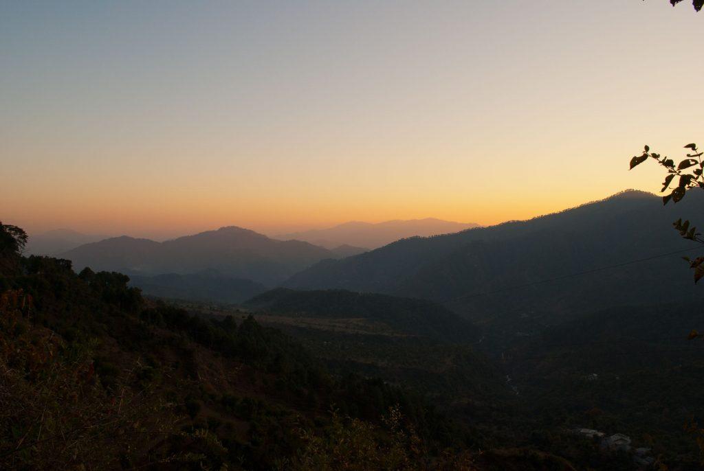 Beautiful Sunset in Karsog near Chindi