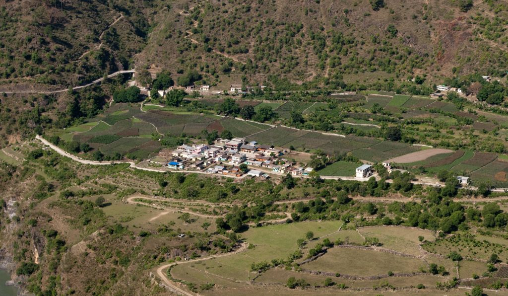 Beautiful Pabbar Valley