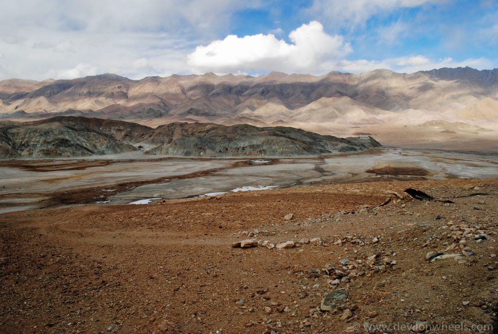 Aerial Views of Hanle Village - an offbeat place in Ladakh