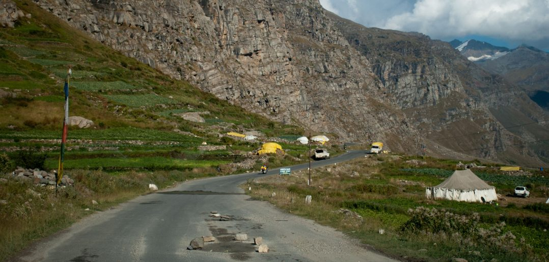 Roads of Lahaul Valley