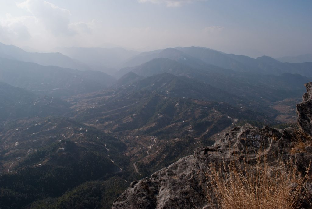 Views as far as the eyes can see - Mukteshwar!