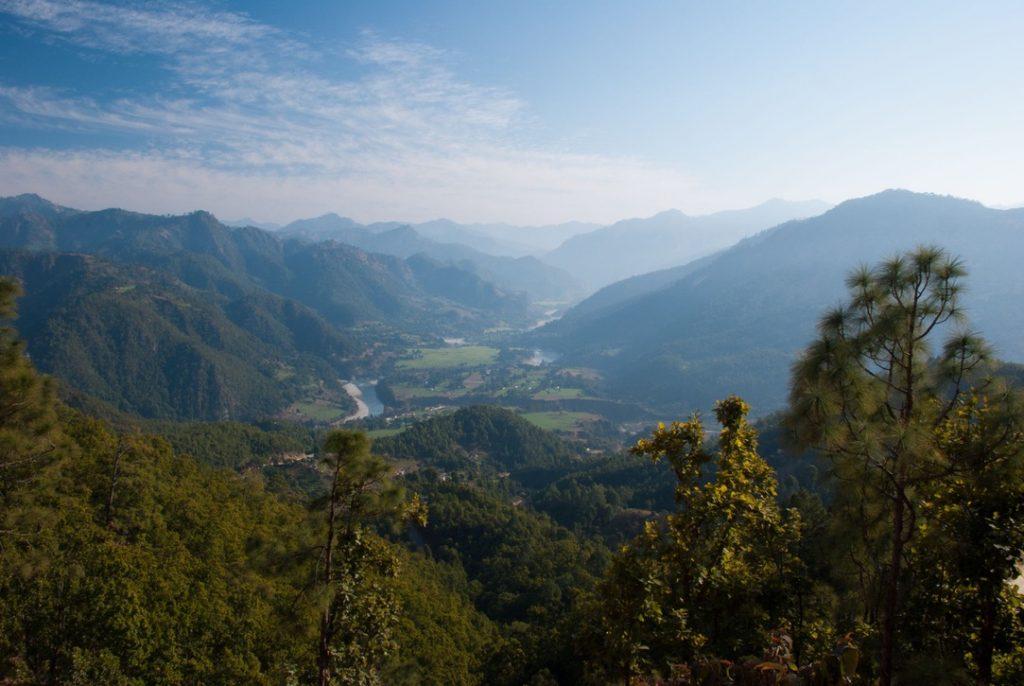 Beautiful views of Kumaon