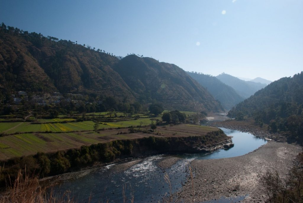On the way to Gwaldam from Delhi