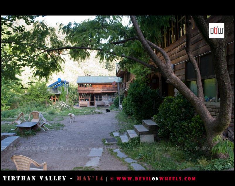 Block 1 at Raju's Cottage, Goshaini, Tirthan Valley