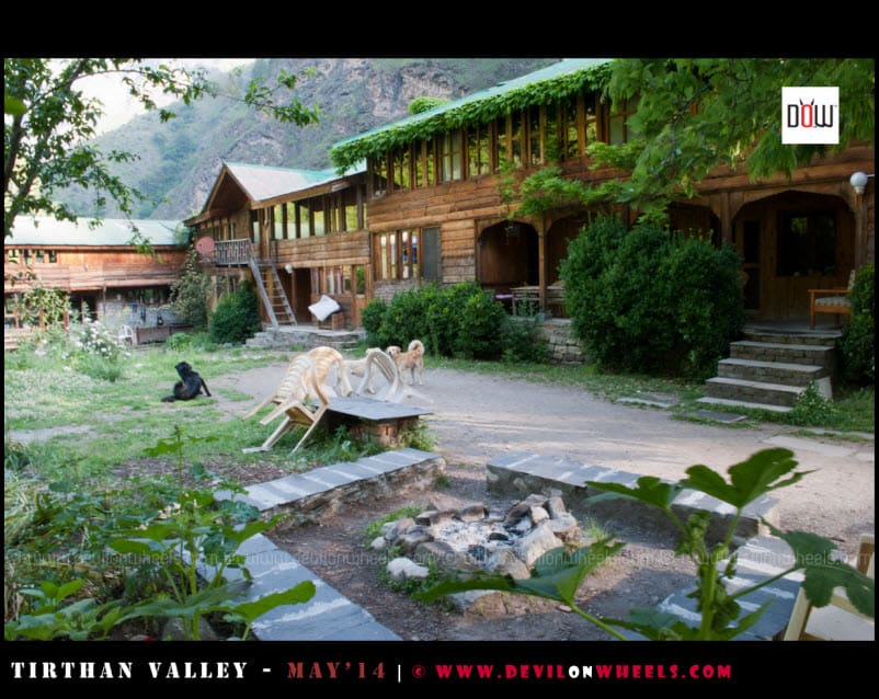 Block 1 at Raju's Cottage, Goshaini, Tirthan Valley