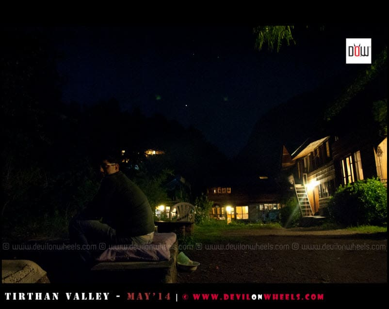 A Star Studded night at Raju's Cottage
