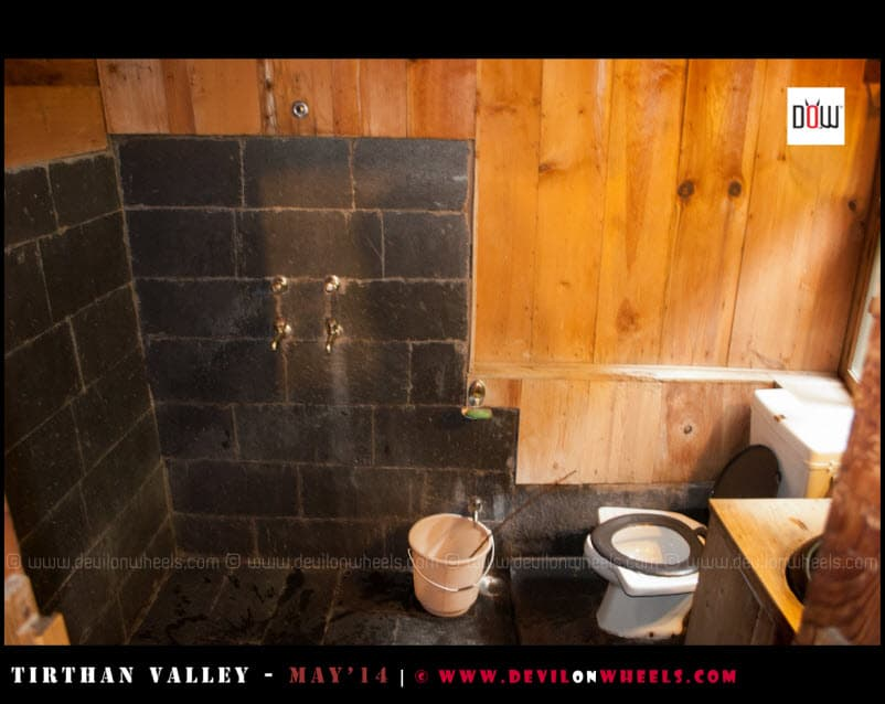 Washroom at Raju's Cottage