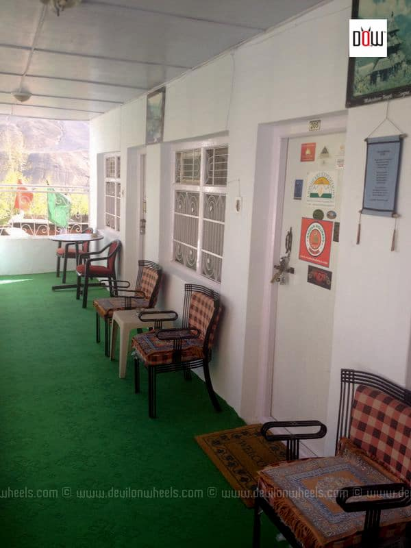 Corridor at Sakya Abode Kaza
