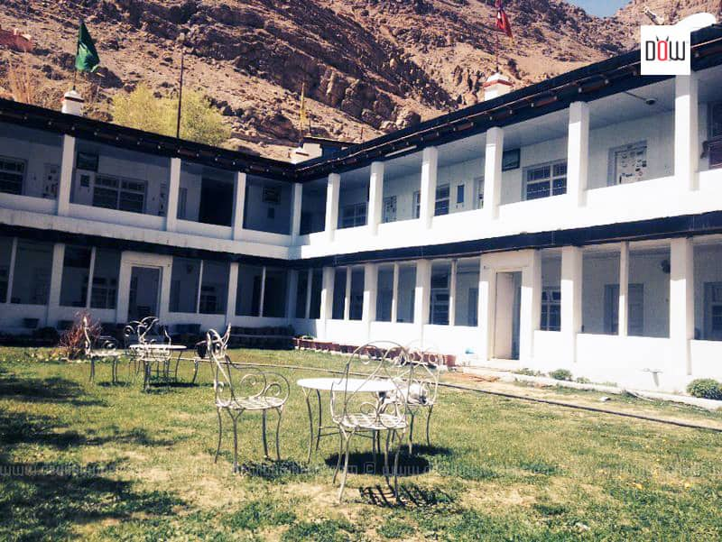 Lawn at Sakya Abode Kaza