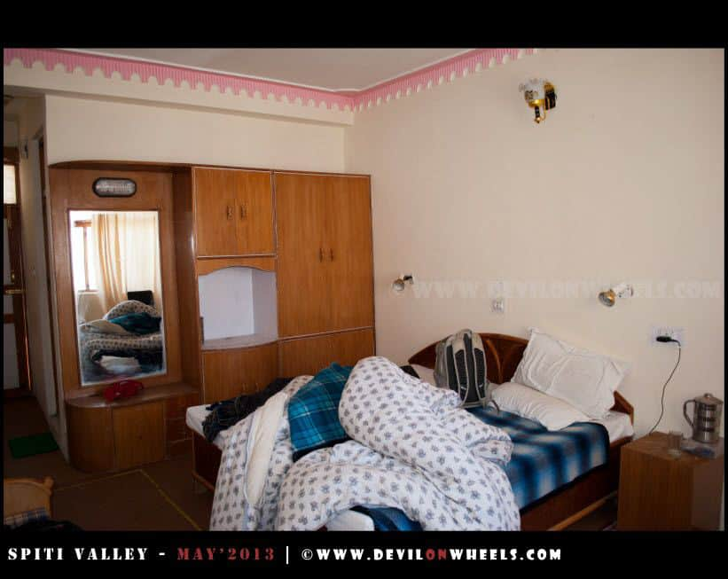 Rooms at Snow Lion Kaza