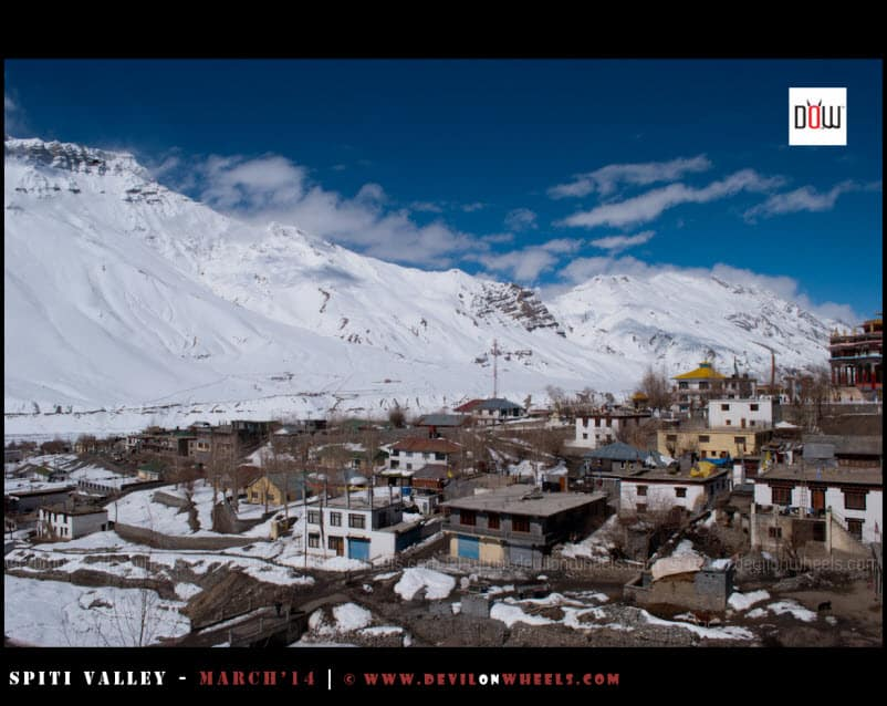 A Snowy view of Kaza