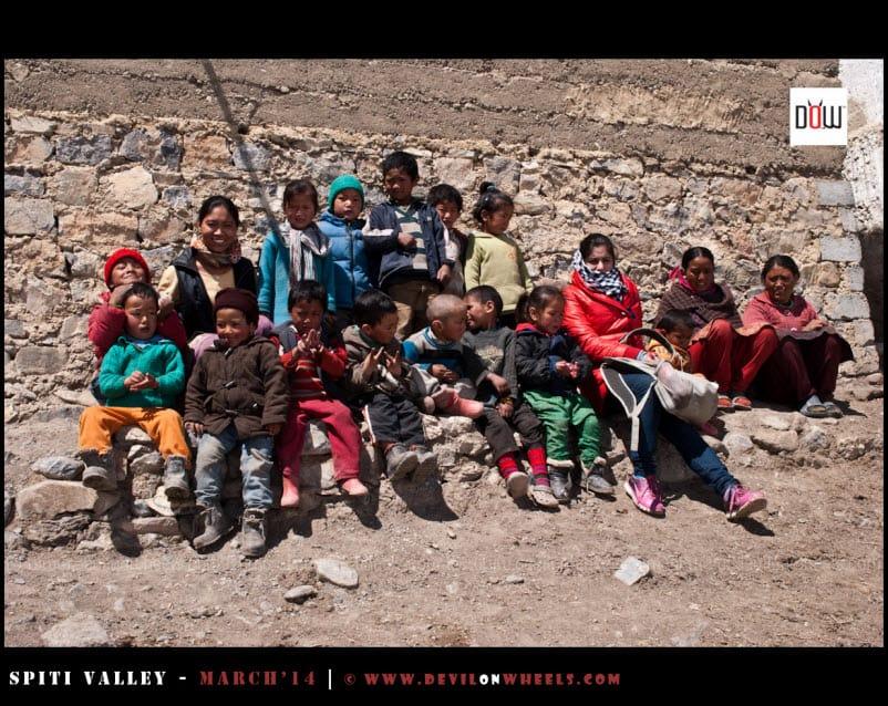 DoW Causes | Spreading Smiles in Kibber Village