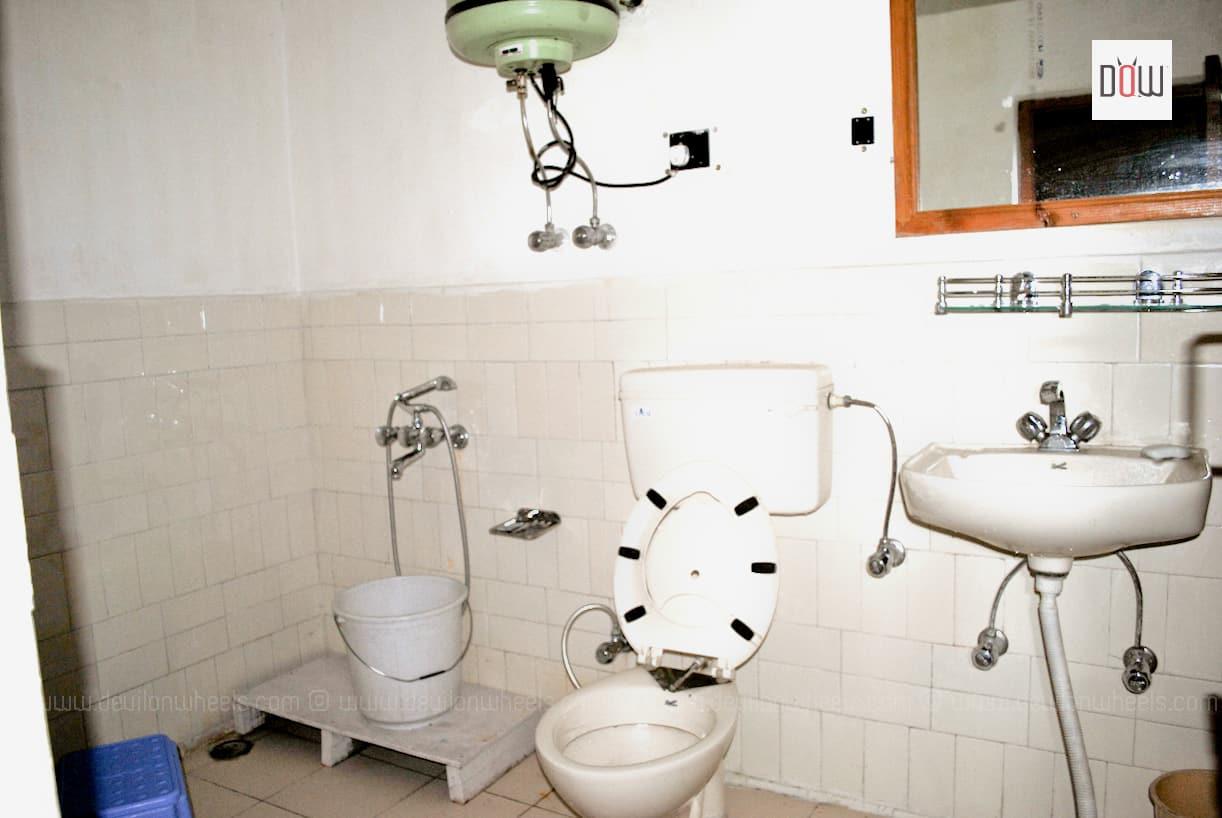 Washrooms at Sakya Abode Home Stay