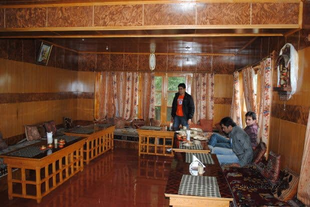 Dinning Hall at Hotel Chubi or Hotel Chube, Leh, Ladakh