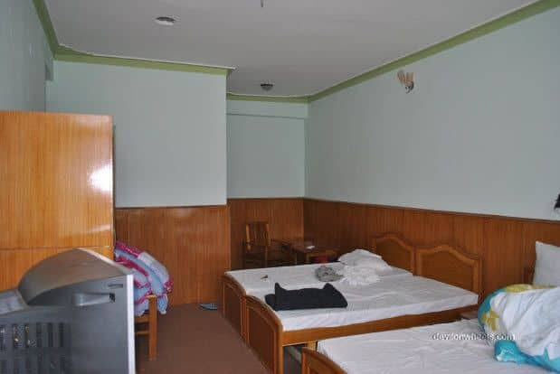 Rooms at Hotel Sten Del, Sangam Bar and Restaurant at Diskit town, Nubra Valley, Ladakh