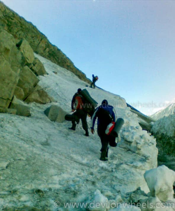 Finding My Way - Trekking over glaciers of Spiti Valley