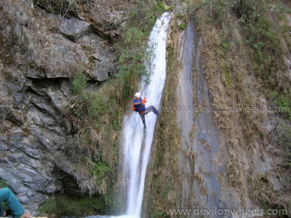 Canyoning at Shivpuri / Rishikesh...
