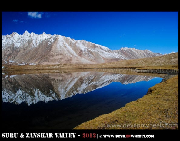 Magical Reflections of Statso Lake, Zanskar Valley