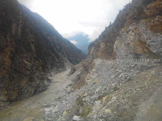 Delhi - Kinnaur - Spiti Valley Road Conditions
