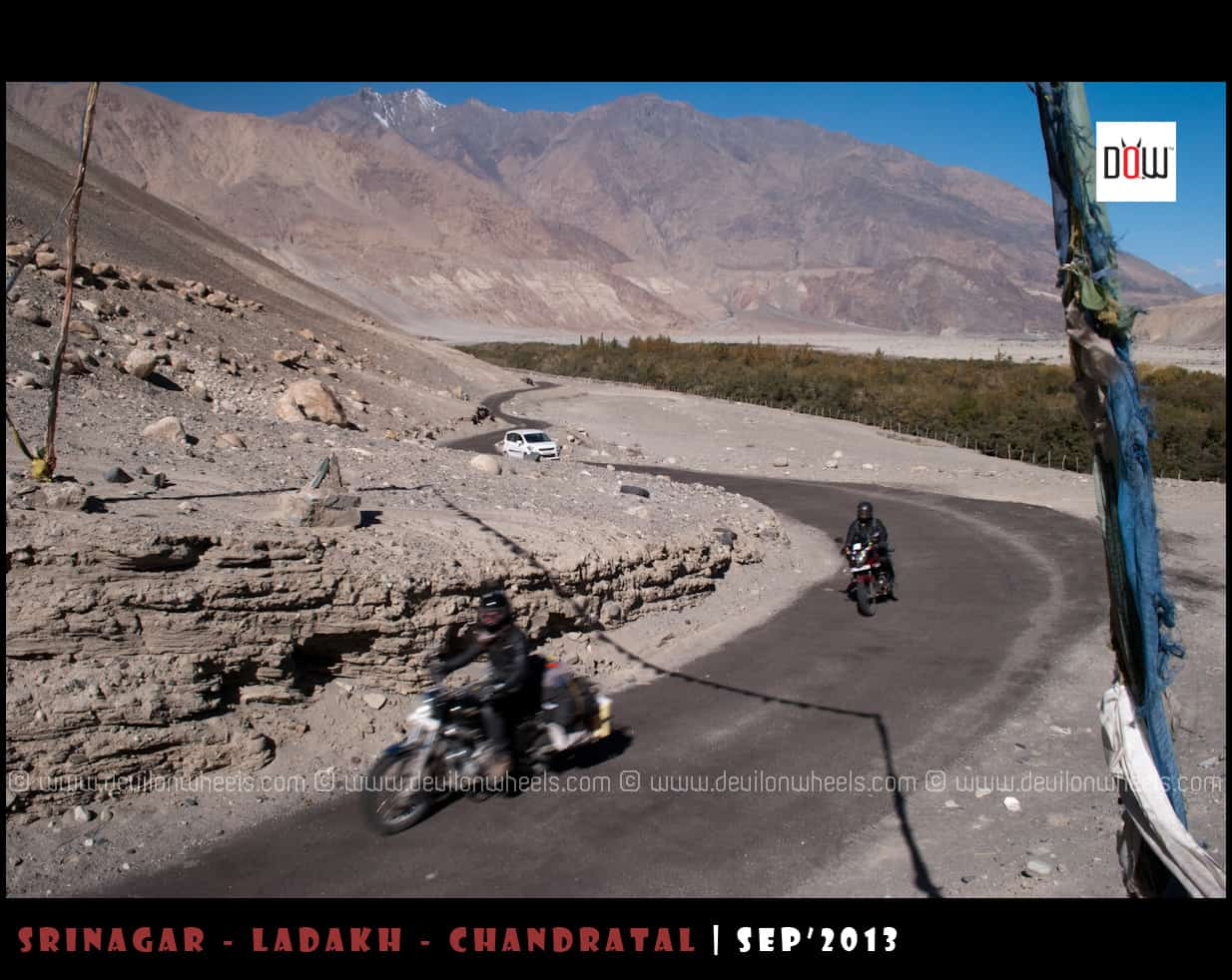 Are outside rented bikes allowed in Leh - Ladakh?