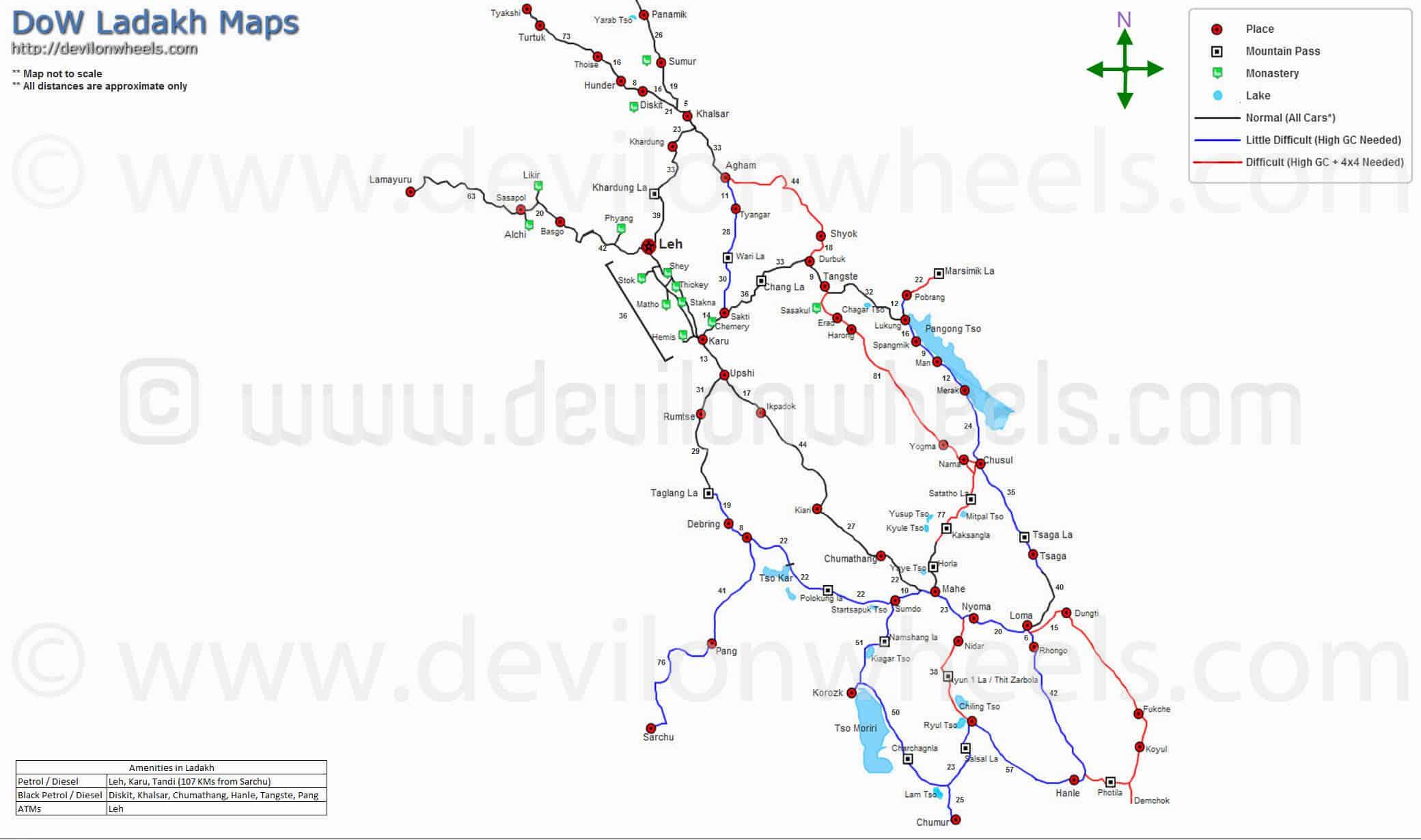 DoW - Maps of Ladakh