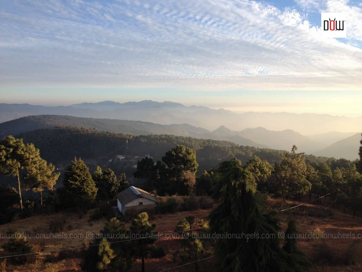 Views from KMVN Rest House Manila, Kumaon