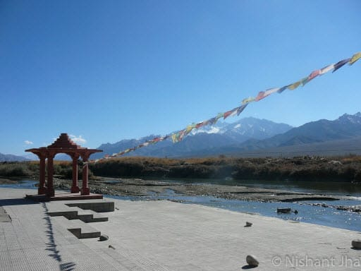 Sindhu Ghaat in Leh - Ladakh