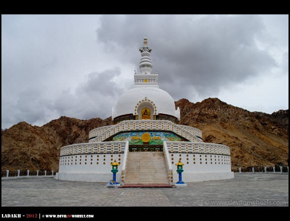 Shanti Stupa - Leh Local Sightseeing