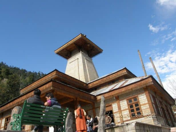 View of Manu Temple in Manali