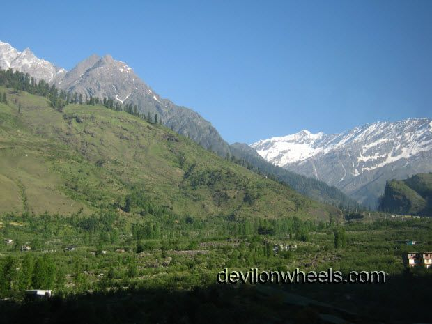 View of Manali