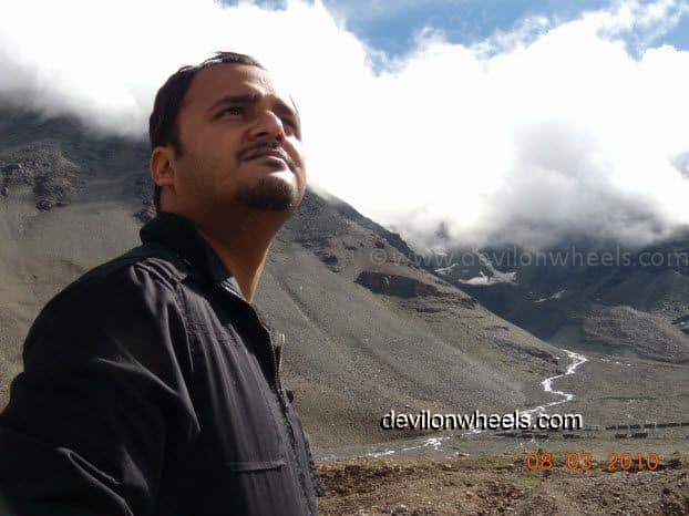 Dheeraj Sharma Zingzing bar on Manali - Leh National Highway