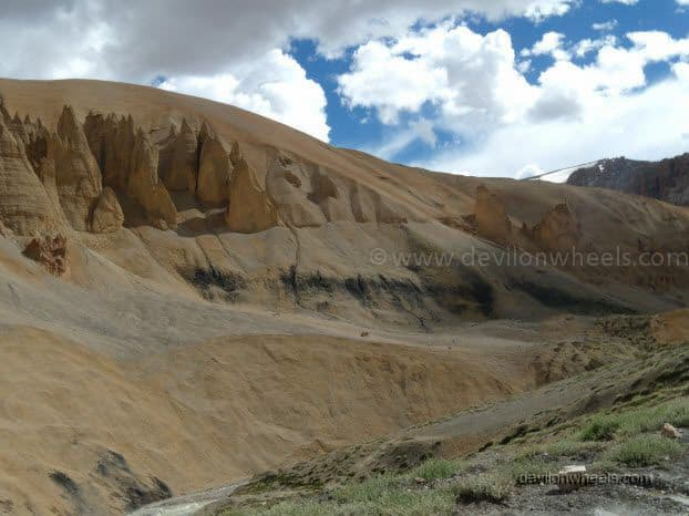 Views on Manali - Leh Highway near Pang