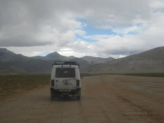Views at Moore Plains on Manali - Leh Highway