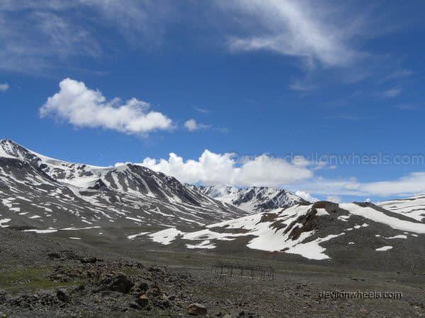 Baralacha La Pass on Manali - Leh Highway
