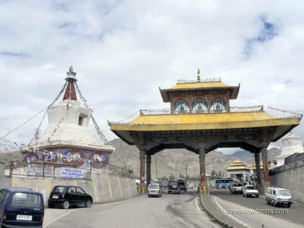 Entrance gate in Leh - Ladakh