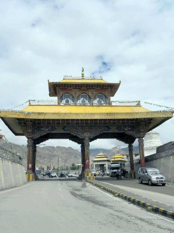 Entrance gate in Leh - Ladakh