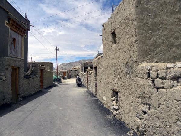 Saboo village in Leh - Ladakh