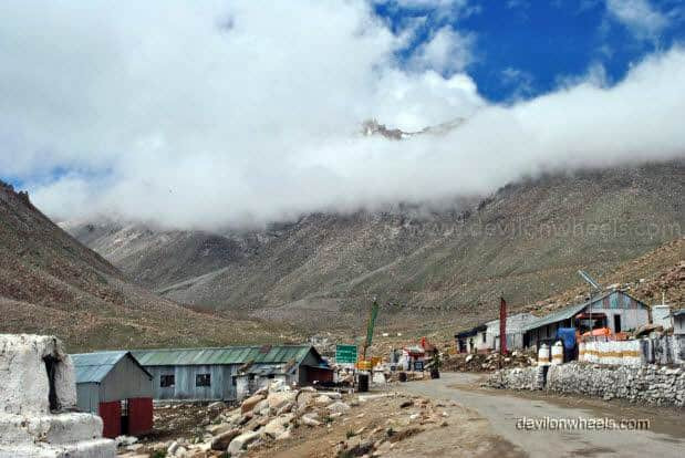 South Pullu checkpost in Leh - Ladakh