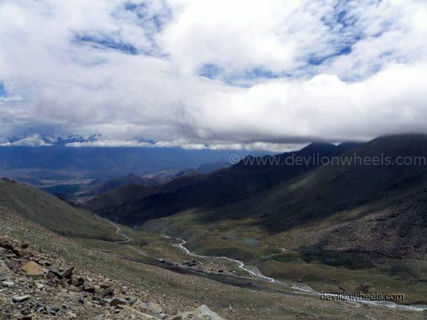 View of Stok Kangri range in Leh - Ladakh