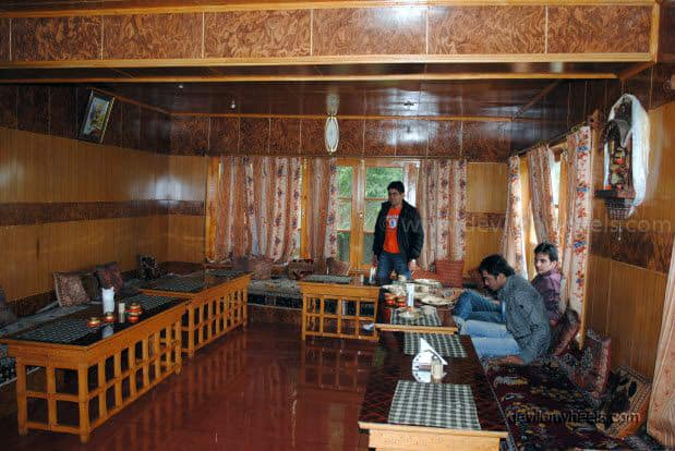 Dinning Hall at Hotel Chubie Leh - Ladakh