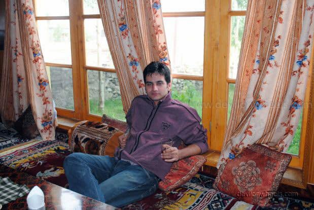 Dinning Hall at Hotel Chubie Leh - Ladakh