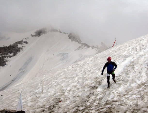 Snow at Khardung La in Leh - Ladakh